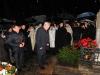 Губернатор Санкт-Петербурга Г.С.Полтавченко возлагает цветы на могилу М.В.Ломоносова