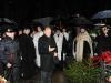 Председатель СПб НЦ РАН академик Ж.И.Алферов возлагает цветы на могилу М.В.Ломоносова